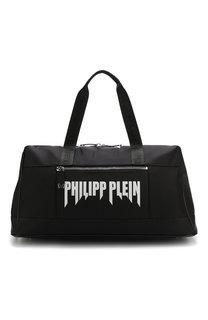 Текстильная спортивная сумка с плечевым ремнем Philipp Plein