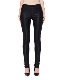 Черные кожаные леггинсы Primer A.F.Vandevorst