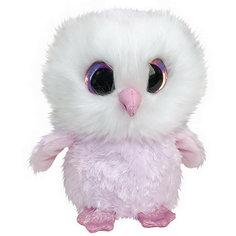 Мягкая игрушка Lumo Stars Сова 15 см., светло-розовая