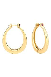 Позолоченные кольца с рубинами из коллекции Antique Lav`Z