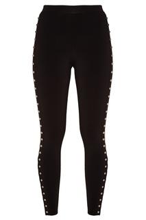 Черные брюки с клепками Alexander Wang
