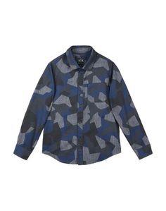 Джинсовая рубашка Armani Exchange