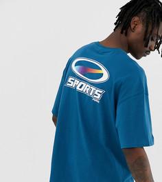 Синяя футболка из органического хлопка Puma эксклюзивно для ASOS - Синий