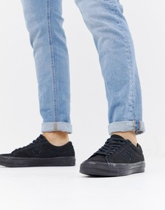 Черные кеды Converse One Star Ox 162950C - Черный