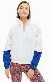 Белая ветровка с яркими вставками Adidas Originals
