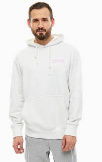 Белая толстовка из хлопка Adidas Originals