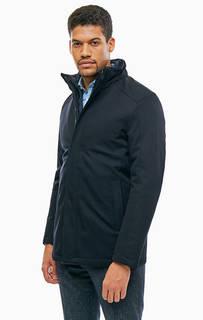 Синяя демисезонная куртка с карманами Cinque
