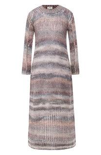 Вязаное платье с круглым вырезом Acne Studios