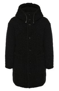 Пальто на молнии с капюшоном Dsquared2