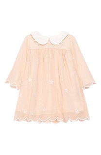 Шелковое платье свободного кроя Chloé