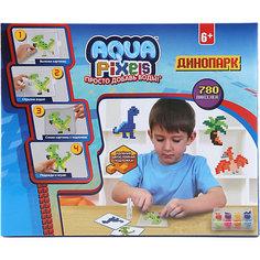 """Набор для творчества 1Toy """"Aqua pixels"""" Динопарк, 780 пикселей Lucky"""