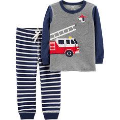 Комплект: Футболка с длинным рукавом и брюки Carters для мальчика