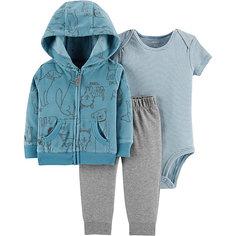 Комплект: Толстовка, боди и брюки Carters для мальчика