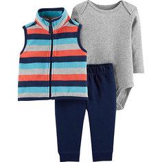 Комплект: Жилет, боди и брюки Carters для мальчика