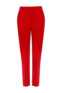 Зауженные красные брюки Nebo