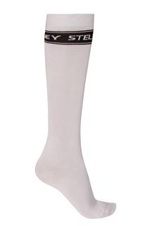 Высокие белые носки Stella Mc Cartney