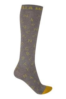 Серые носки с рисунком Stella Mc Cartney