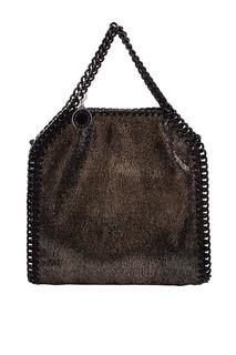 Серебристая сумка с цепочкой Stella Mc Cartney