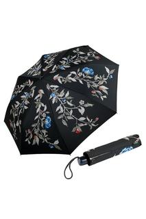 Компактный складной зонт с принтом Goroshek
