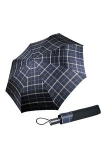 """Черный зонт """"Клетка мега"""" Goroshek"""