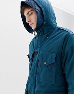 Синяя дутая куртка Pretty Green - Темно-синий