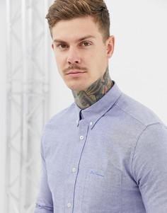 Оксфордская рубашка Ben Sherman - Синий