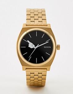 Золотистые часы Nixon X Mickey Mouse - Золотой