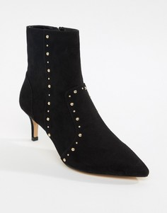Ботинки на каблуке-рюмочке Carvela - Черный