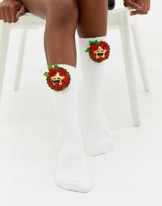 Новогодние носки ASOS DESIGN - Мульти