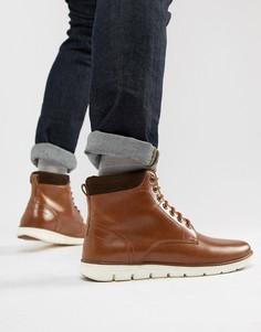 Кожаные ботинки с манжетом KG by Kurt Geiger Gregory - Рыжий
