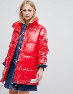 Дутая куртка Calvin Klein Jeans - Красный