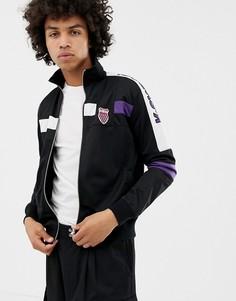 Черная спортивная куртка K-Swiss Oakland - Черный