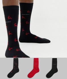 Подарочный набор из 3 пар носков BOSS - Мульти