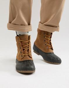 Светло-коричневые ботинки SOREL - Рыжий