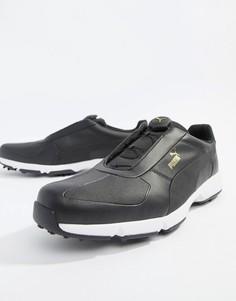 Черные кроссовки Puma Golf Ignite - Черный