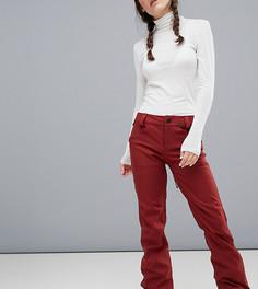 Красные эластичные брюки Volcom Species - Красный
