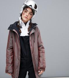 Фиолетовая утепленная куртка Volcom Winrose - Фиолетовый