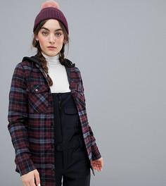 Фланелевая куртка с капюшоном Volcom - Мульти