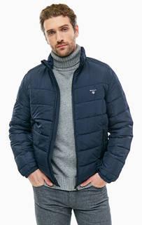 Демисезонная куртка на молнии с карманами Gant