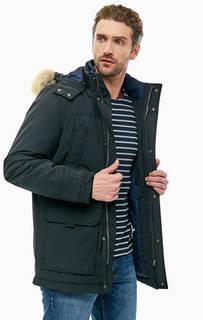 Черная куртка с капюшоном и карманами Tommy Jeans