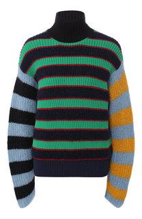 Вязаный пуловер с высоким воротником Kenzo