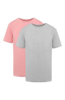 Комплект хлопковых футболок Acne Studios