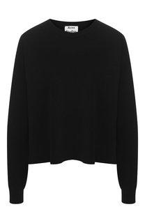 Однотонный пуловер свободного кроя Acne Studios