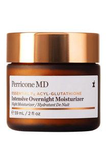 Интенсивный увлажняющий ночной крем с ацил-глутатионом Essential Fx Perricone MD
