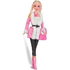 """Кукла Toys Lab """"Городской стиль"""" Ася блондинка с косичками, 28 см"""