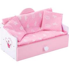 "Мебель для кукол Mary Poppins ""Корона"" Кроватка-софа"