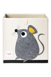 Контейнер для игрушек «Мышка» 3 Sprouts