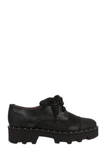 Черные комбинированные ботинки Pertini
