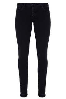 Черные джинсовые брюки Maje