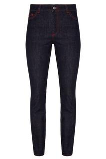 Синие джинсы с яркими швами Claudie Pierlot